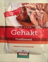 Mix voor gehakt traditioneel - Product