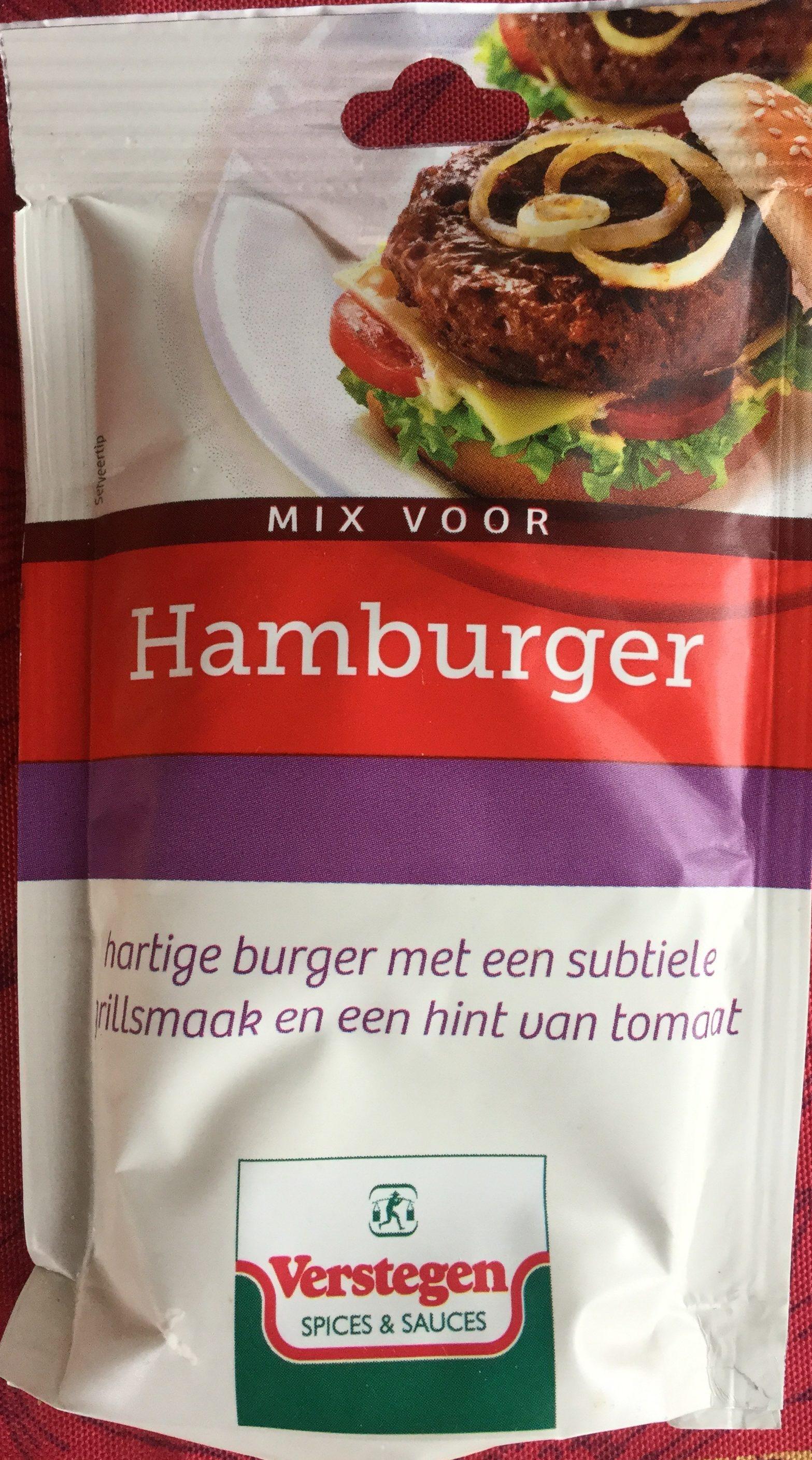 Mix voor hamburger - Product - nl