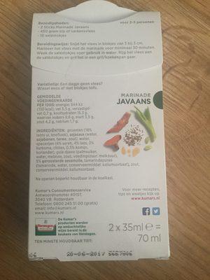 Marinade Javaans - 3