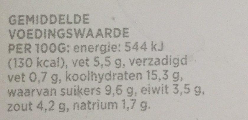 Marinade Javaans - Voedingswaarden - nl