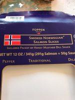 Smoked norwegian - Producte