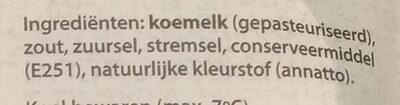 Jong 48+ kaas - Ingredients - nl