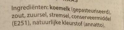 Belegen - Ingredients - nl