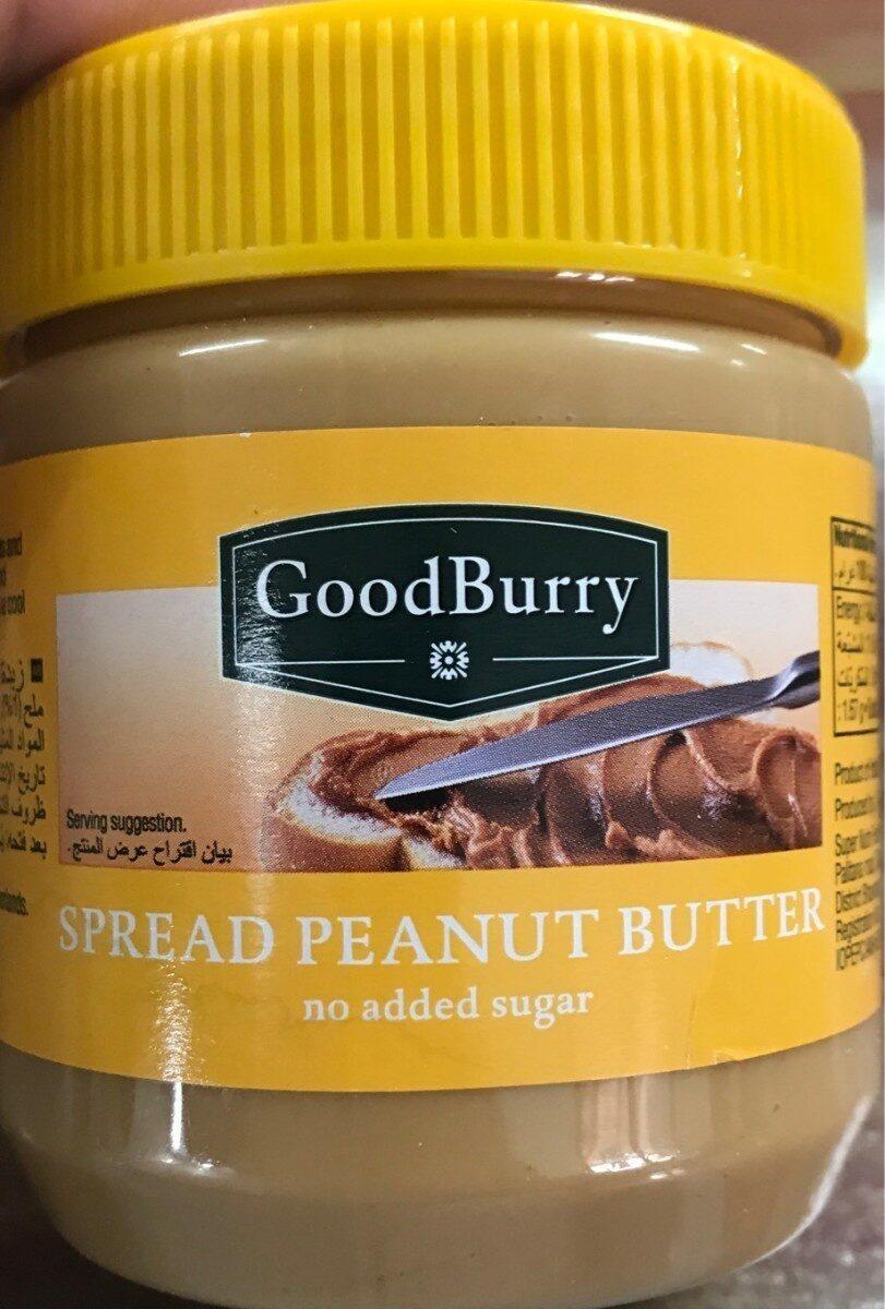 Spread peanut butter - Product - en