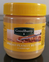 Spread peanut butter - Ingredients - en