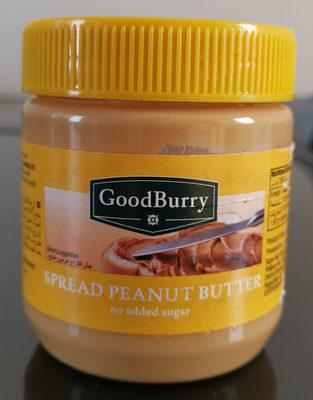Spread peanut butter - Ingredients