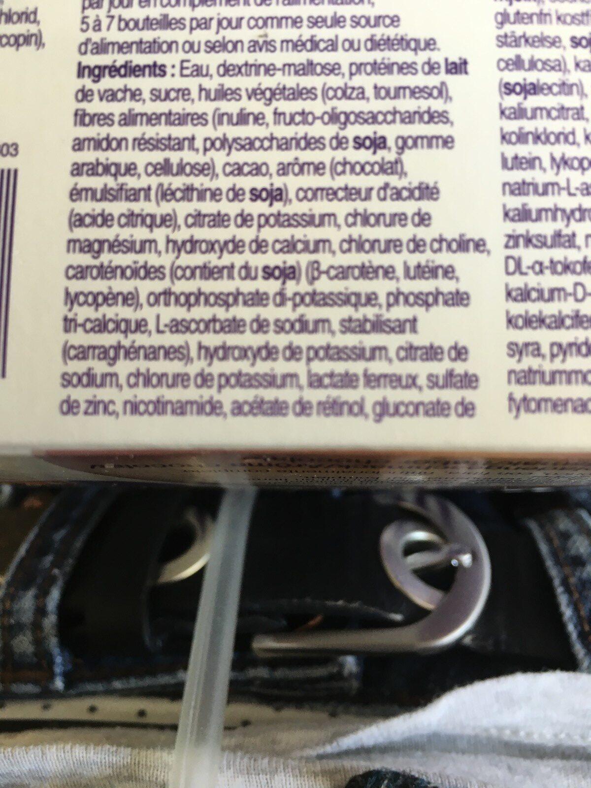 Fortimel Energy Multi Fibre - Ingrediënten