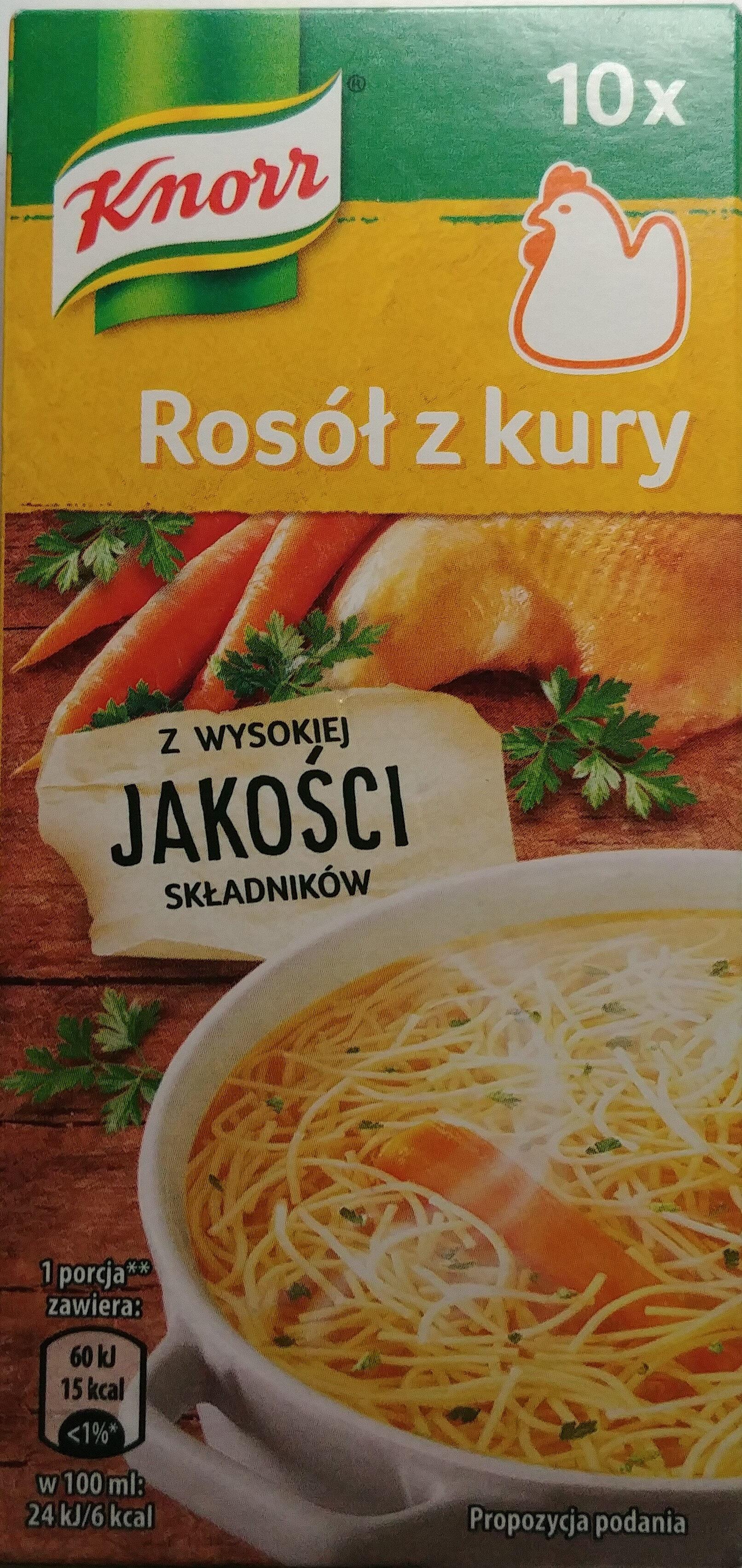 Rosół z kury - Produkt