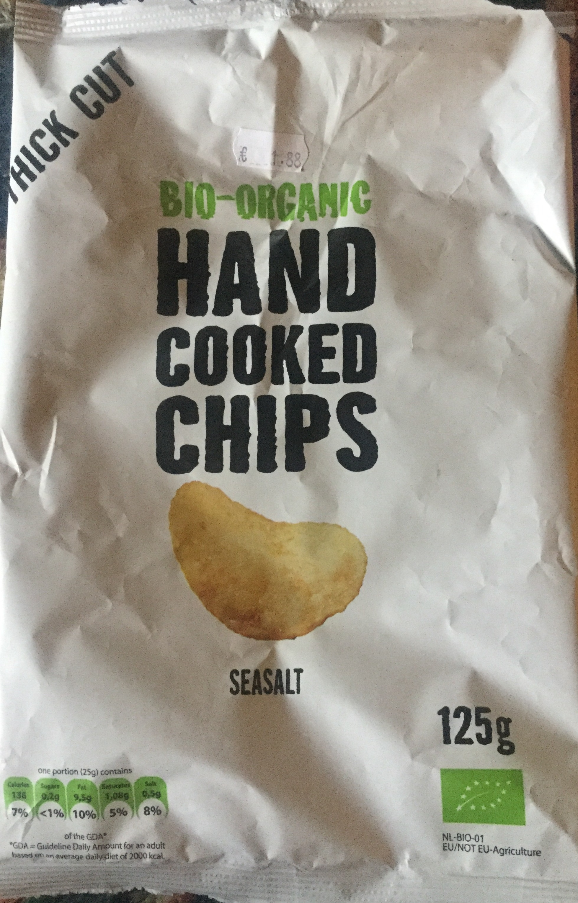 Bio-organic hand cooked chips - Product - en