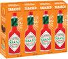 Tabasco Sauce Pimentée Rouge 60ml Lot de 4 - Product