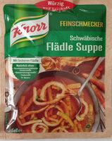 Schwäbische Flädle Suppe - Product