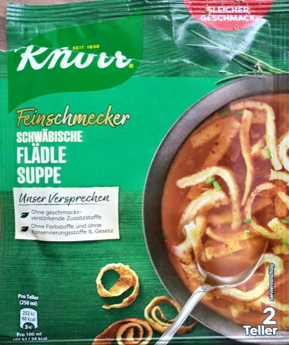 Schwäbische Flädlesuppe - Produit - de