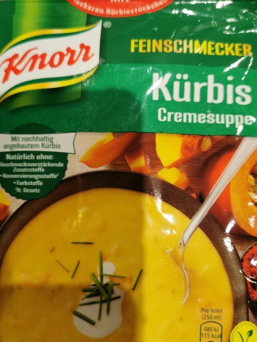 Kuerbis Cremesuppe - Produit - fr