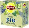 Lipton Thé Vert Menthe Douce 20 Sachets - Produit