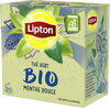 Lipton Thé Vert Bio Menthe Douce 20 Sachets - Prodotto
