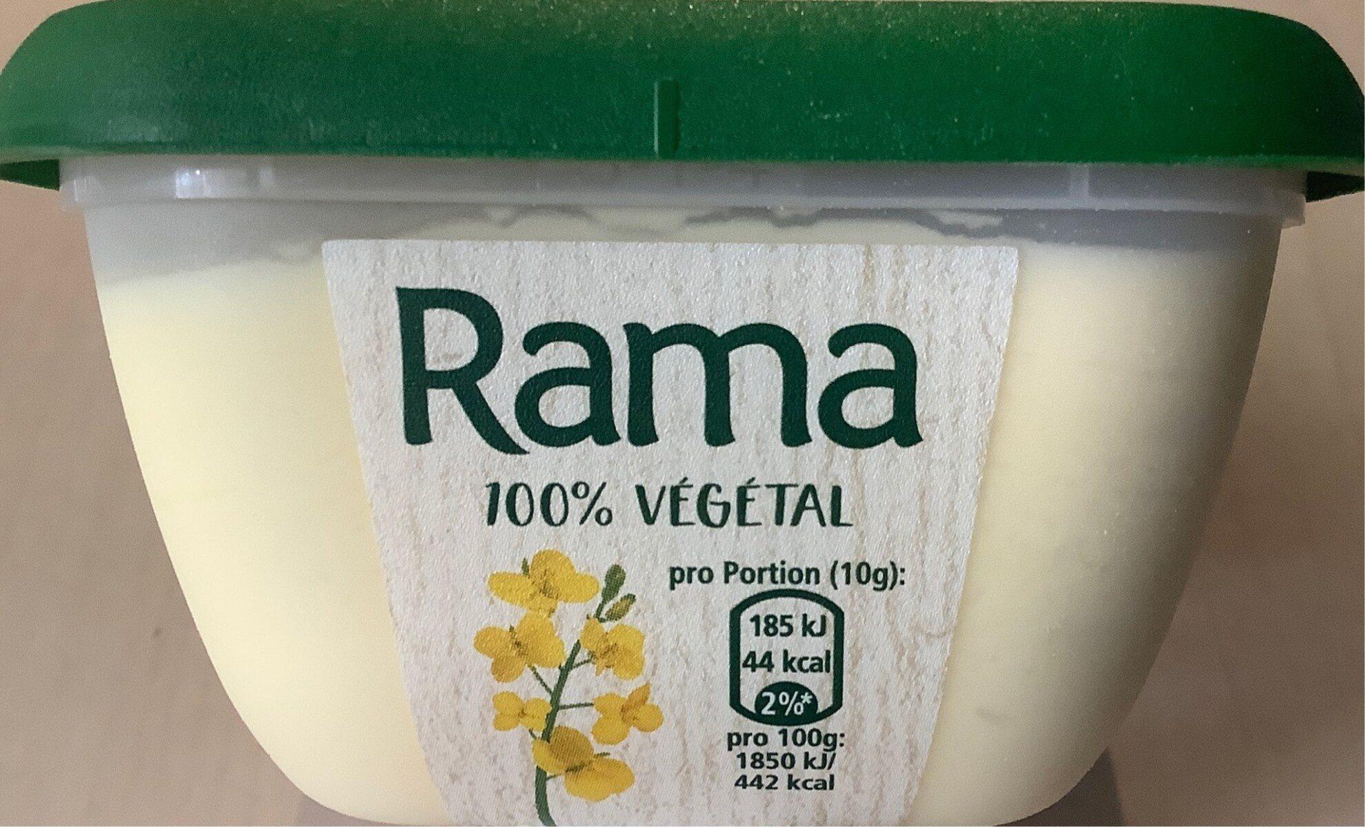 Rama 100 % végétal - Prodotto - fr