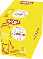 Amora Mayonnaise Dijon Nature Œufs Français Flacon Souple Flacon Souple 685g 4 + 2 Offerts - Product - fr