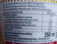 Cup Noodles - Voedingswaarden - de