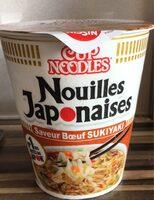 Nouilles japonaise saveur boeuf SUKIYAKI - Produit - fr