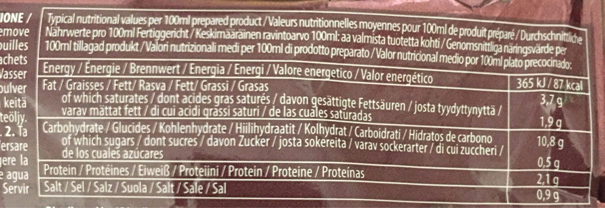 Demae Ramen Bœuf - Nutrition facts - fr