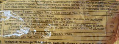 Demain Ramen au curry - Nutrition facts - fr