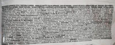 Nouilles Sautées - Zutaten - fr