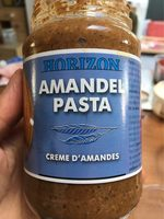 Horizon Amandelpasta Eko - Nutrition facts - fr