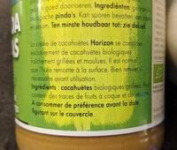 Crème de cacahuètes - Ingredients - fr