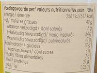 Pindakaas crunchy - Nutrition facts - nl