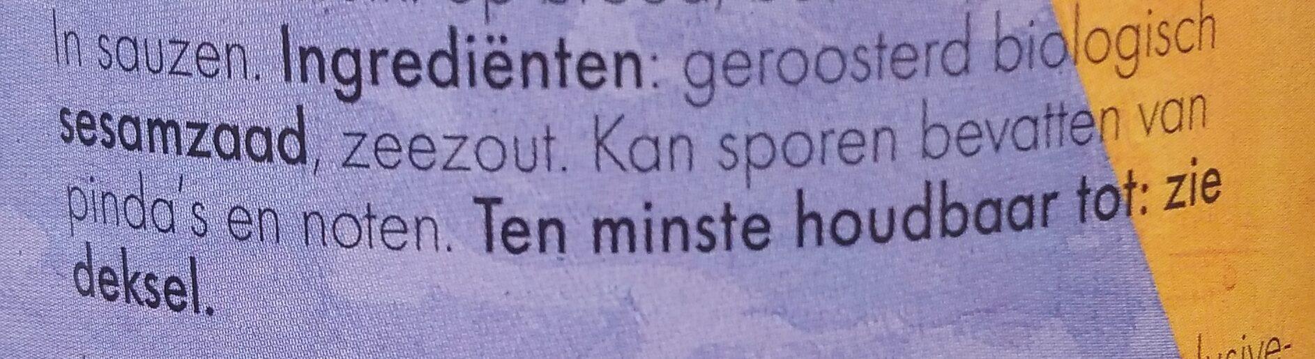 Tahin - Ingredients - nl