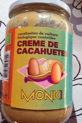 CRÈME DE CACAHUÈTES - Produit - fr
