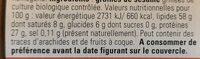 Monki Tahin Ohne Salz, 330 GR Glas - Informations nutritionnelles - fr