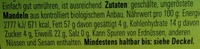 Weißes Mandelmus - Ingrediënten - de