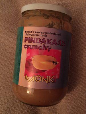Monki Pindakaas Crunchy - Product - fr