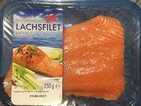 Norwegisches Lachsfilet mit Haut - Produkt