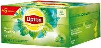 Lipton Thé Vert Menthe 50+5 Sachets - Produkt - fr