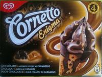 Cornetto Enigma - Chocolat & Coeur au caramel - Produit