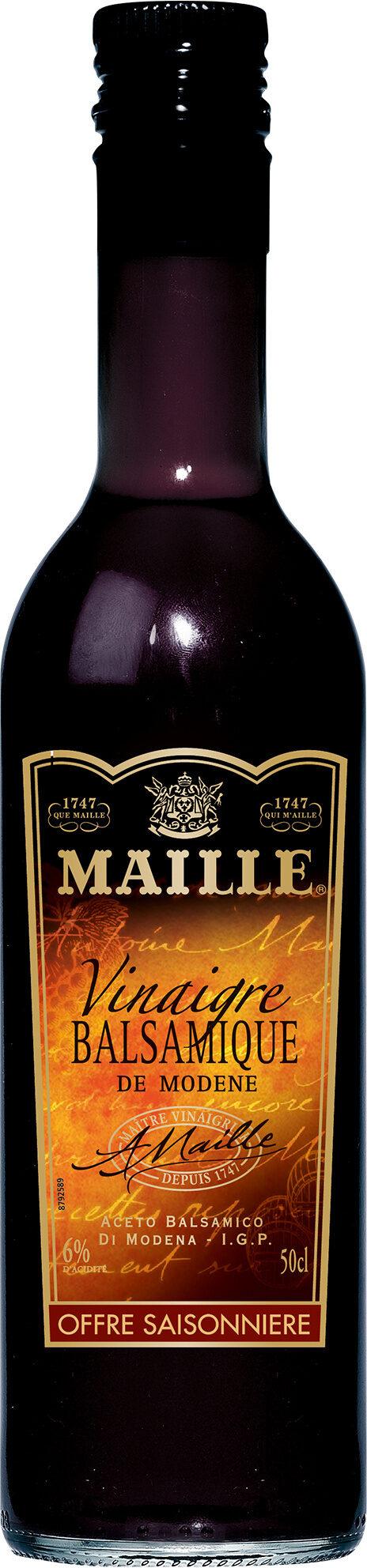 Maille Vinaigre Balsamique de Modène Offre Saisonnière 50cl - Produit - fr