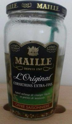 Maille Cornichons Extra-Fins Offre Saisonnère Bocal - Produit - fr
