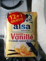 Alsa Sucre vanillé les 13 sachets de 7,5 g - Product - fr