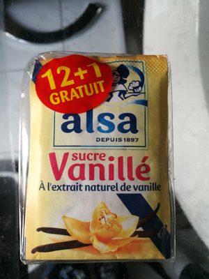 Alsa Sucre vanillé les 13 sachets de 7,5 g - Product