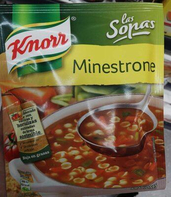 Sopa Deshidratada Minestrone Knorr - Producto - es