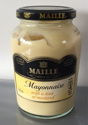 with a hint of Mustard Mayonnaise - Produit - en