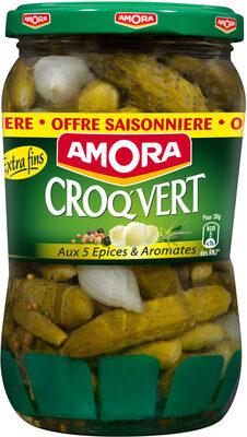 Amora Cornichons Extra-Fins 380g Offre Saisonnière - Produit - fr