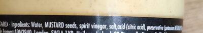 Dijon Originale - Ingredienti - en