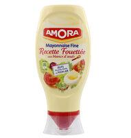 Amora Mayonnaise Recette Fouettée Flacon Souple 398g - Produit - fr
