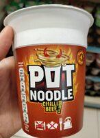 Pot Noodle Chili Beef flavour - Product