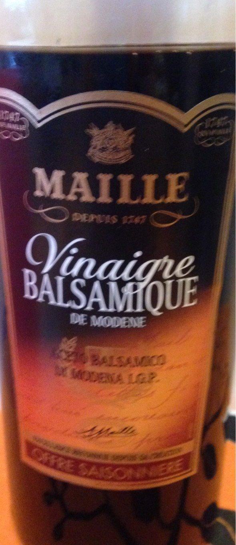 Vinaigre balsamique de mod ne maille 75 cl - Vinaigre balsamique calorie ...