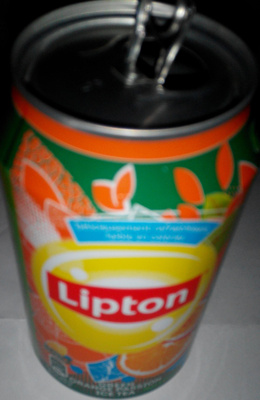 Boisson aux extraits de thé vert, jus d'orange, jus de fruits de la passion - Product - fr