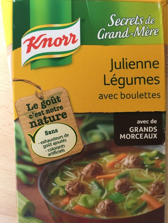 Julienne légumes avec boulettes - Product - nl